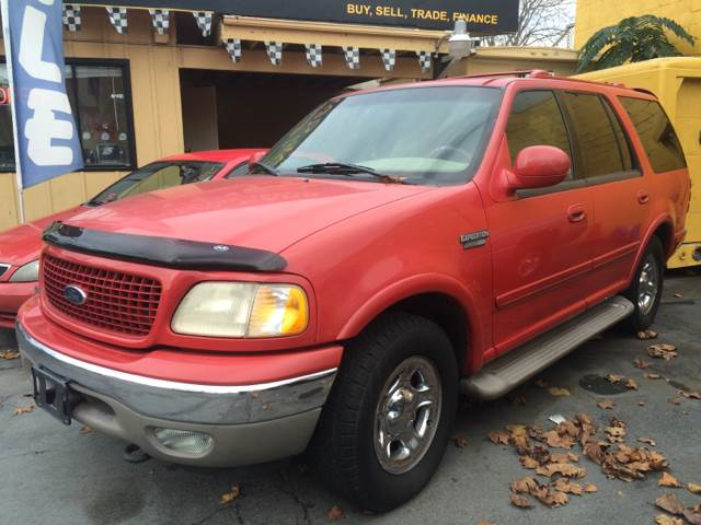 2000 FORD EXPEDITION EDDIE BAUER 4DR 4WD SUV burg abs - 4-wheel adjustable pedals - power axle