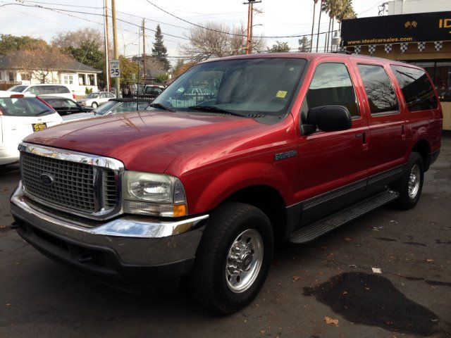 2002 FORD EXCURSION XLT PREMIUM 54L 2WD burg abs brakesair conditioningalloy wheelsamfm radi