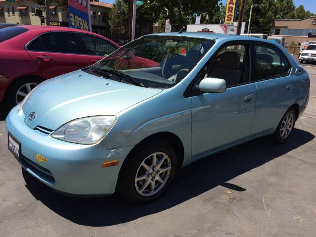 2001 TOYOTA PRIUS BASE 4DR SEDAN blue abs - 4-wheel alloy wheels anti-theft system - alarm cass