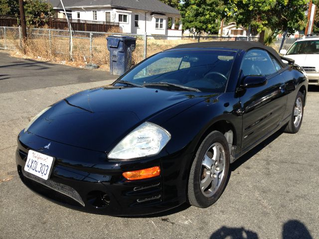 2003 MITSUBISHI ECLIPSE GS SPYDER blk air conditioningalloy wheelsamfm radioanti-brake system
