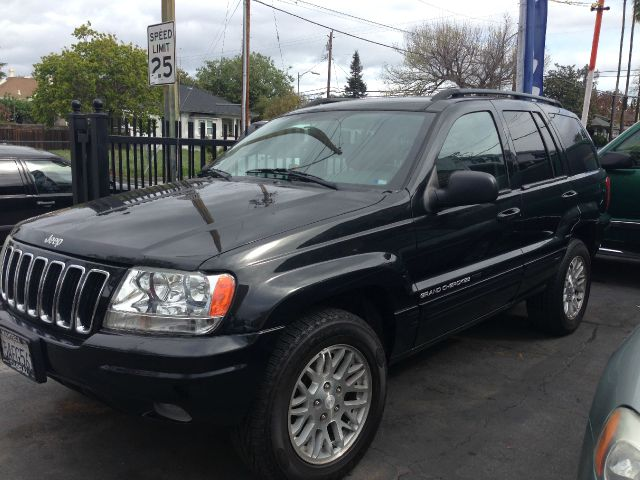 2003 JEEP GRAND CHEROKEE LIMITED 4WD black 4wdawdabs brakesair conditioningalloy wheelsamfm