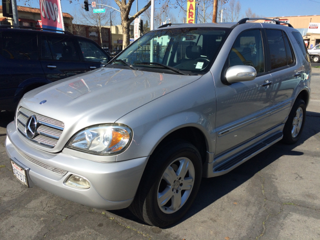 2005 MERCEDES-BENZ M-CLASS ML350 AWD 4MATIC 4DR SUV silver abs - 4-wheel anti-theft system - alar