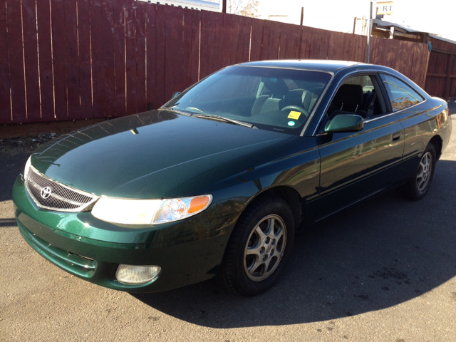 2000 TOYOTA CAMRY SOLARA SE green air conditioningamfm radioanti-brake system non-abs  4-whee