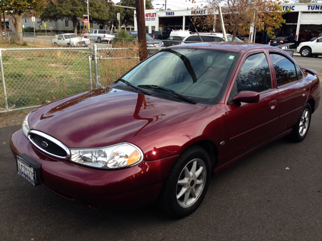 1999 FORD CONTOUR SE burg air conditioningamfm radioanti-brake system non-abs  4-wheel absbo