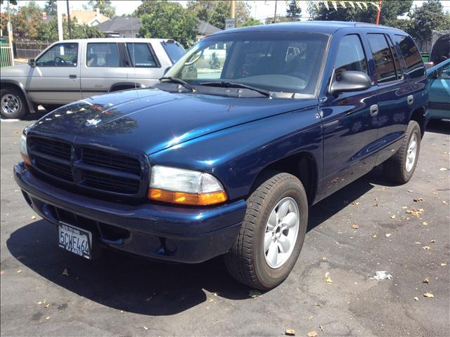 2003 DODGE DURANGO SPORT blue the mileage represented on this vehicle is the actual current mileag