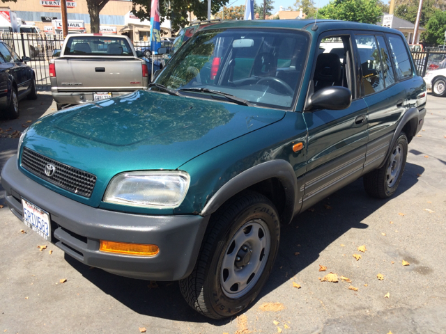 1997 TOYOTA RAV4 BASE AWD 4DR STD SUV green front airbags - dual front seat type - bucket front