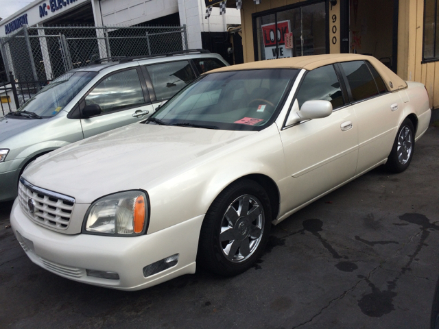 2003 CADILLAC DEVILLE DTS 4DR SEDAN pearl white abs - 4-wheel anti-theft system - alarm cassette