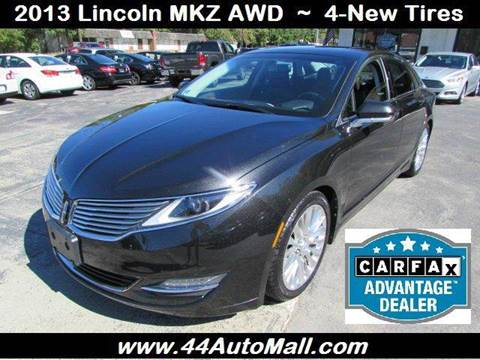 2013 Lincoln MKZ for sale in Smithfield, RI