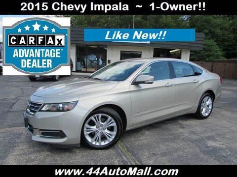 2015 Chevrolet Impala for sale in Smithfield, RI