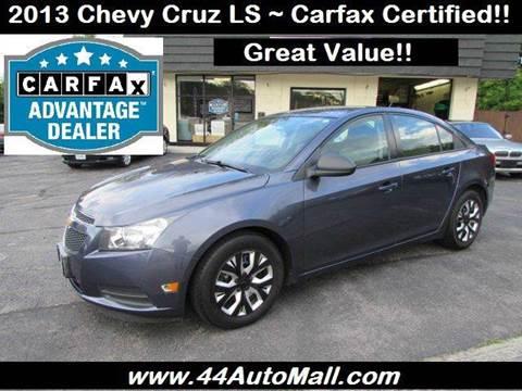 2013 Chevrolet Cruze for sale in Smithfield, RI