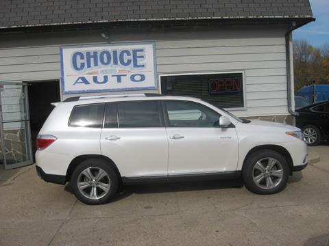 2013 Toyota Highlander for sale in Carroll, IA