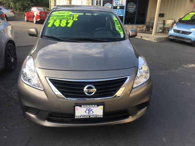 2013 Nissan Versa 1.6 SV 4dr Sedan - Sonora CA