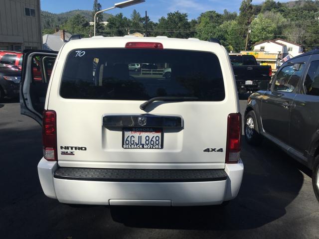 2008 Dodge Nitro SLT 4dr SUV 4WD - Sonora CA