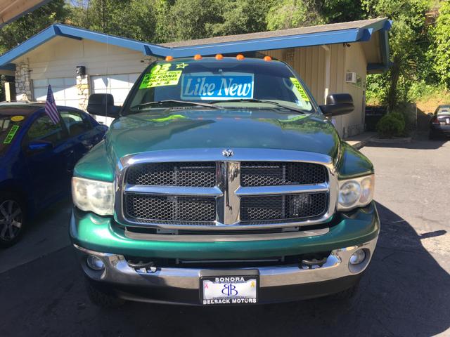 2003 Dodge Ram Pickup 3500 SLT 4dr Quad Cab 4WD LB - Sonora CA