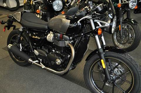 2017 Triumph Street Cup for sale in Swansea, MA