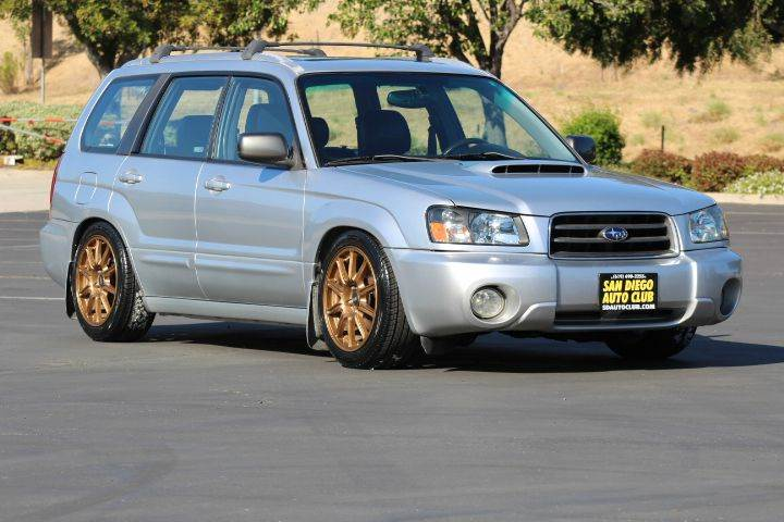 2005 Subaru Forester Xt Awd 4dr Turbo Wagon In Spring