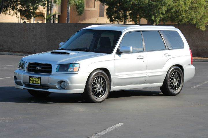 Forester Xt 2004 >> 2004 Subaru Forester XT AWD 4dr Turbo Wagon In Spring Valley CA - San Diego Auto Club