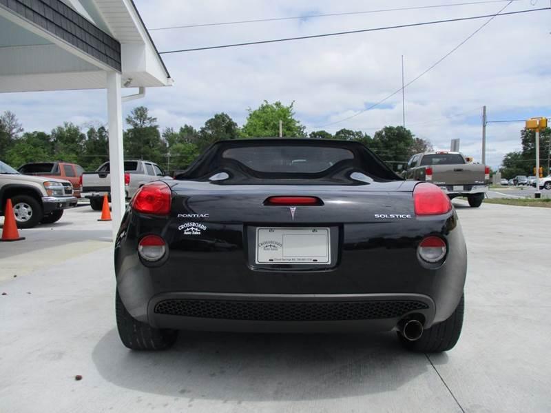 2007 Pontiac Solstice 2dr Convertible - Rossville GA