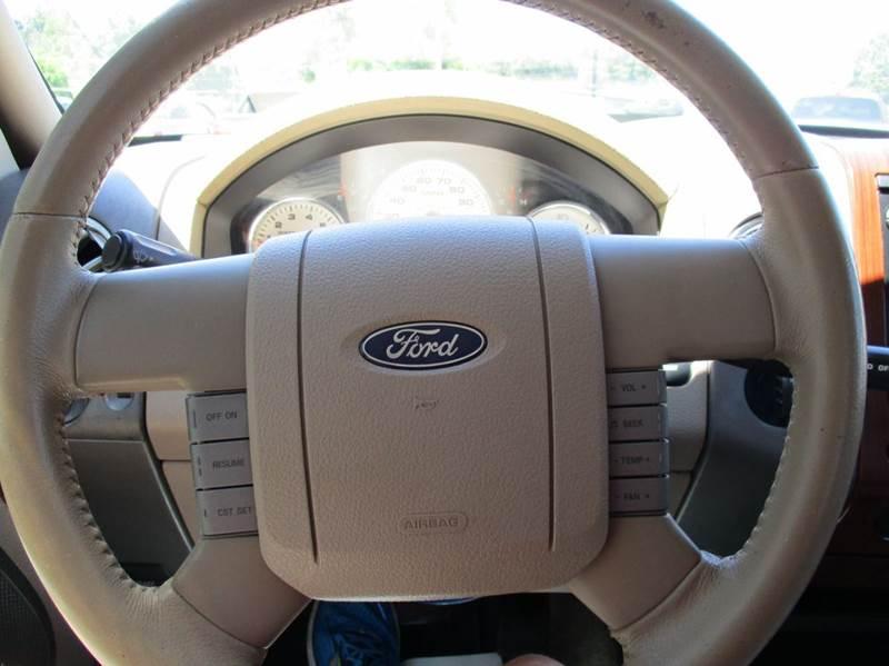 2007 Ford F-150 Lariat 4dr SuperCrew 4x4 Styleside 6.5 ft. SB - Rossville GA