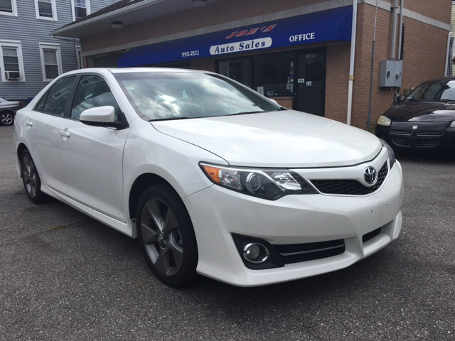 2012 toyota camry se sport limited edition 4dr sedan in new bedford ma joes auto sales and service. Black Bedroom Furniture Sets. Home Design Ideas