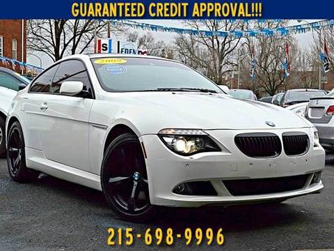 BMW Series For Sale In Pennsylvania Carsforsalecom - 2009 bmw 645