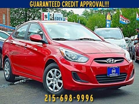 Eden Auto Sales Philadelphia >> Used Hyundai Accent For Sale Philadelphia, PA - Carsforsale.com