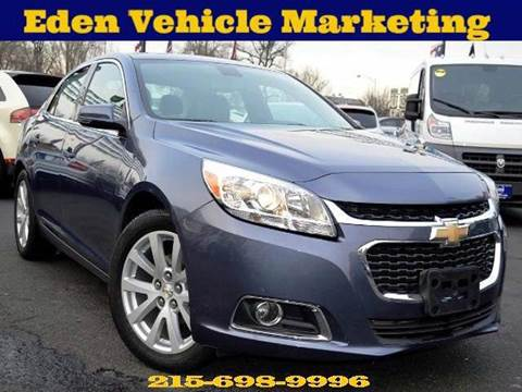 Eden Auto Sales Philadelphia >> 2015 Chevrolet Malibu For Sale Pennsylvania - Carsforsale.com