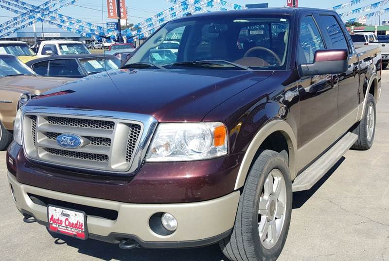 2008 ford f 150 king ranch 4x4 4dr supercrew styleside 5 5 ft sb in victoria tx auto credit. Black Bedroom Furniture Sets. Home Design Ideas
