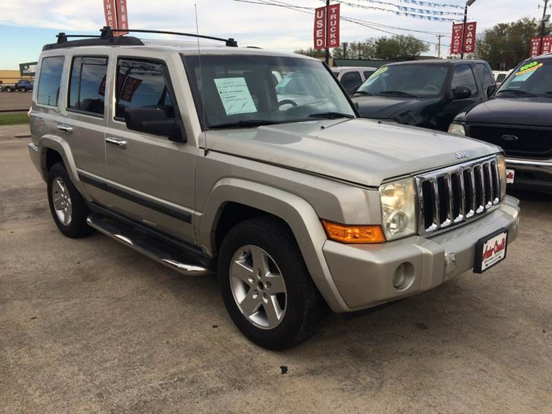 2009 jeep commander sport 4x2 4dr suv in victoria tx. Black Bedroom Furniture Sets. Home Design Ideas