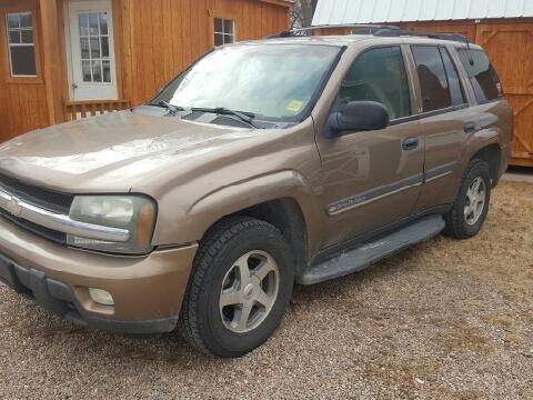 Chevrolet trailblazer for sale nebraska for Blue creek motors lewellen nebraska