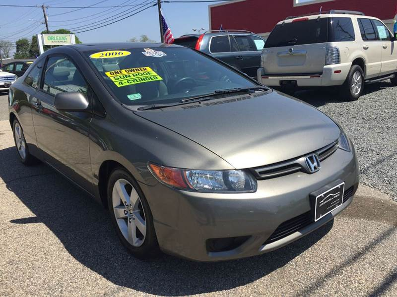 2006 Honda Civic EX 2dr Coupe w/Automatic - Hyannis MA
