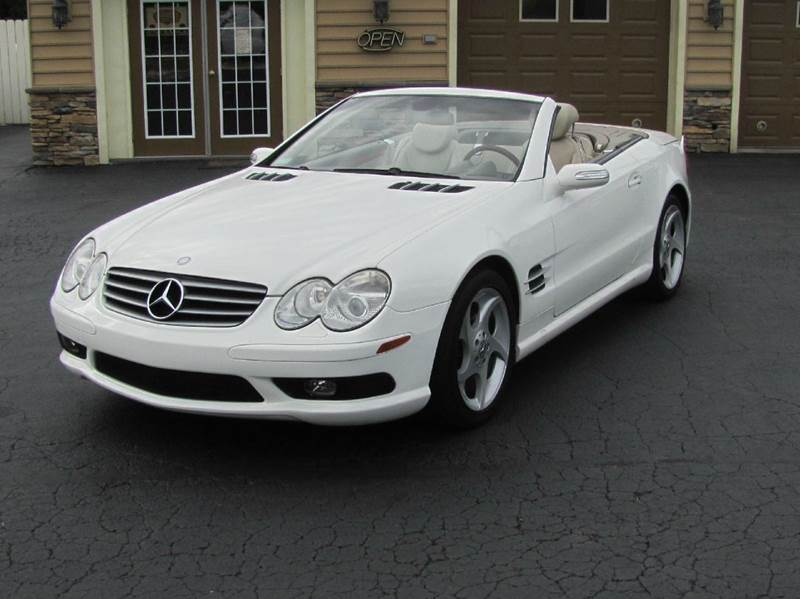 2004 mercedes benz sl class sl500 2dr convertible in hanover pa american auto group llc. Black Bedroom Furniture Sets. Home Design Ideas