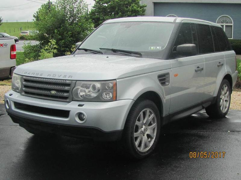2006 land rover range rover sport hse 4dr suv 4wd in hanover pa american auto group llc. Black Bedroom Furniture Sets. Home Design Ideas
