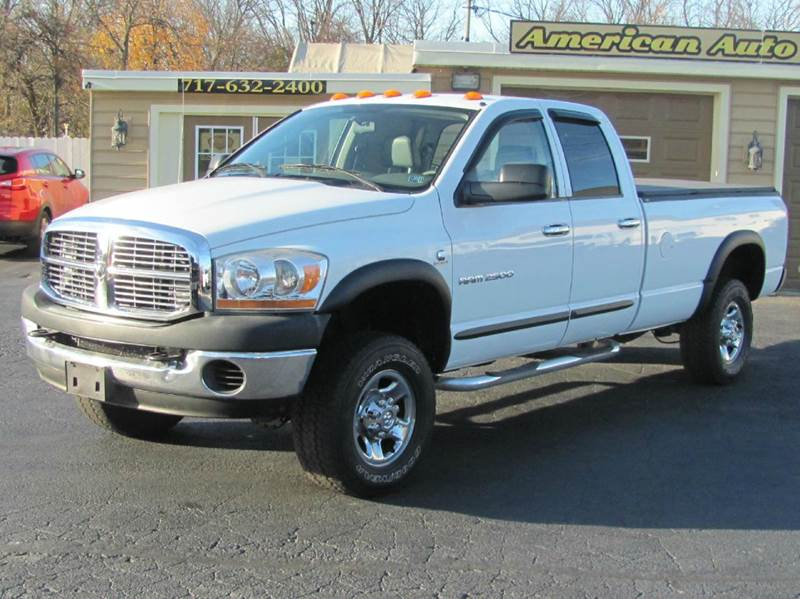2006 dodge ram pickup 2500 st 4dr quad cab 4wd lb in hanover pa american auto group llc. Black Bedroom Furniture Sets. Home Design Ideas