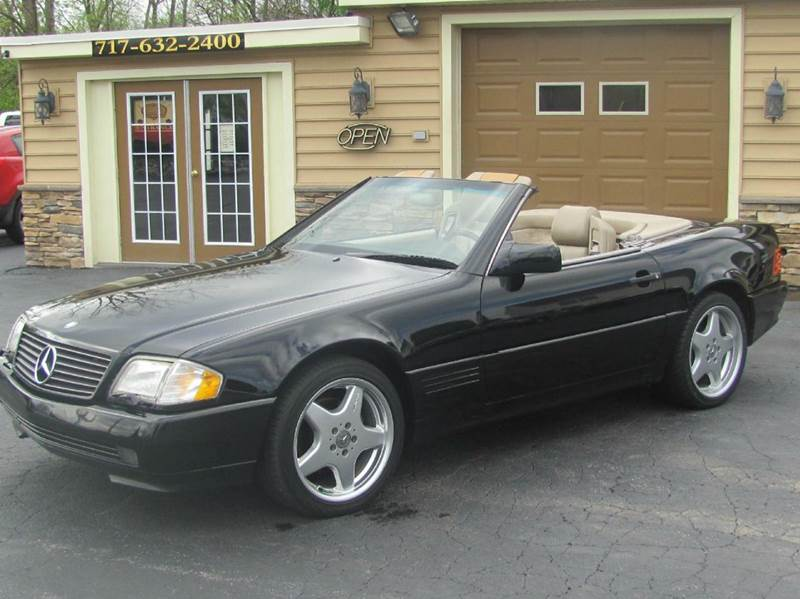 1995 mercedes benz sl class sl 500 2dr convertible in hanover pa american auto group llc. Black Bedroom Furniture Sets. Home Design Ideas