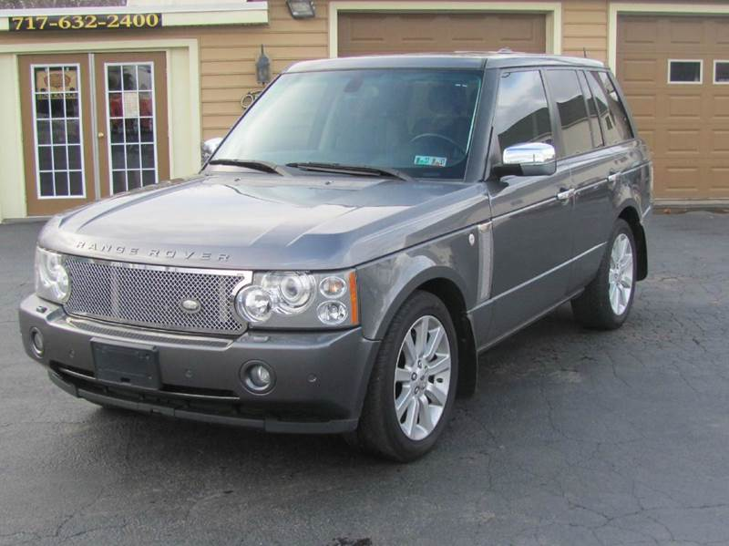 2006 land rover range rover supercharged 4dr suv 4wd in hanover pa american auto group llc. Black Bedroom Furniture Sets. Home Design Ideas