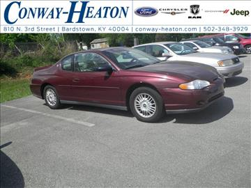 2000 Chevrolet Monte Carlo for sale in Bardstown, KY