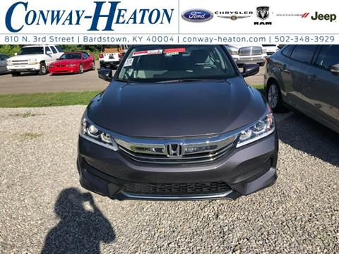 2016 Honda Accord for sale in Bardstown, KY