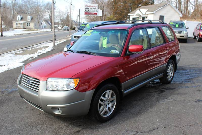 2006 subaru forester awd 2 5 x l l bean edition 4dr wagon in green lane pa shellaway auto. Black Bedroom Furniture Sets. Home Design Ideas