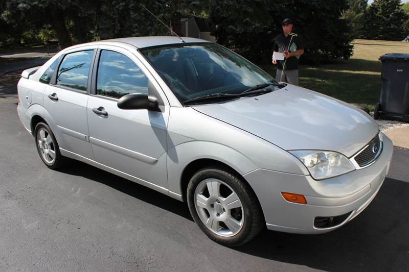 2007 ford focus zx4 s 4dr sedan in green lane pa. Black Bedroom Furniture Sets. Home Design Ideas