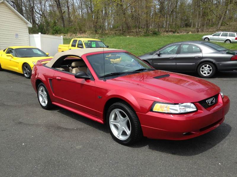 2000 ford mustang gt 2dr convertible in green lane pa. Black Bedroom Furniture Sets. Home Design Ideas