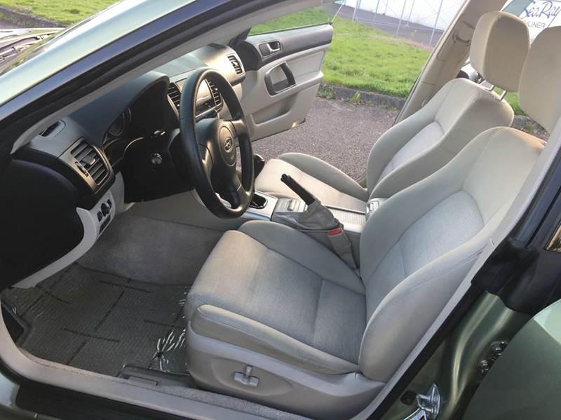 2007 Subaru Outback AWD 2.5i Basic 4dr Wagon (2.5L F4 5M) - Portland OR