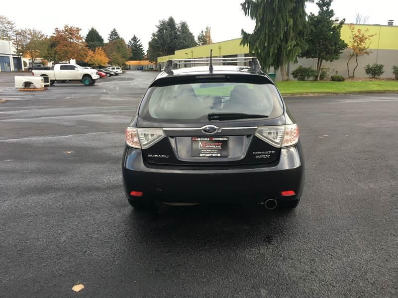 2008 Subaru Impreza AWD WRX 4dr Wagon 5M w/VDC - Portland OR