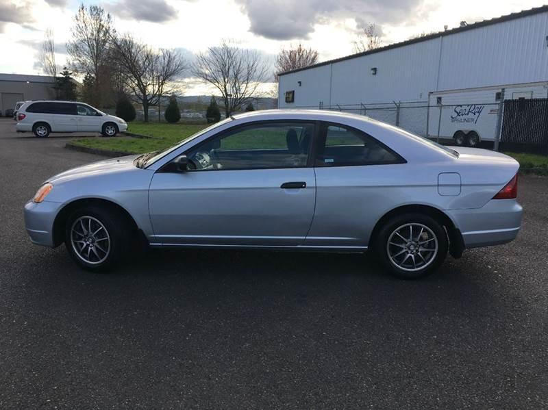 2003 Honda Civic HX 2dr Coupe - Portland OR