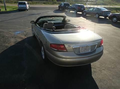 2004 Chrysler Sebring for sale in Spencer, WI