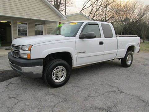 2005 Chevrolet Silverado 2500HD for sale in Town Creek, AL