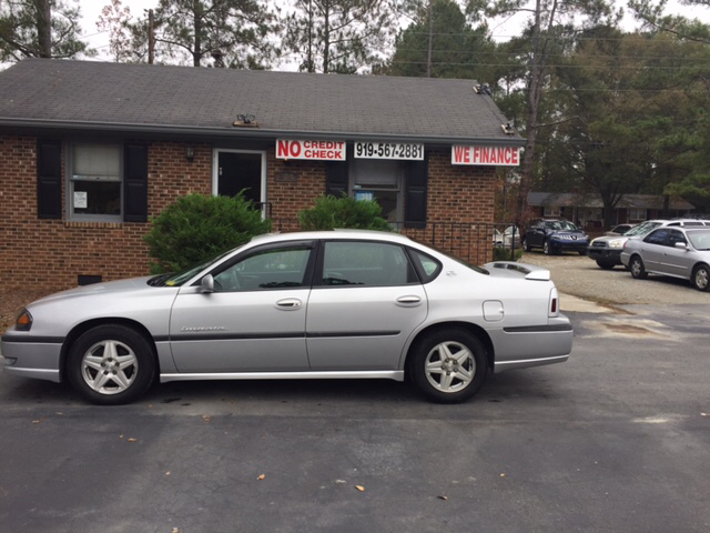 2003 chevrolet impala for sale in fuquay varina nc. Black Bedroom Furniture Sets. Home Design Ideas