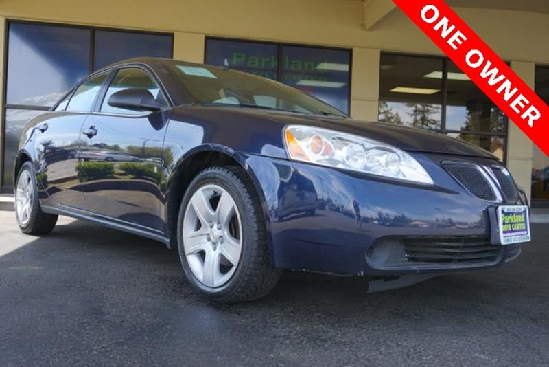 2009 Pontiac G6 for sale in Tacoma, WA