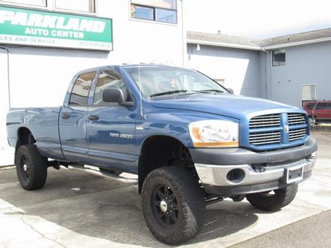 2006 Dodge Ram Pickup 2500 for sale in Tacoma, WA