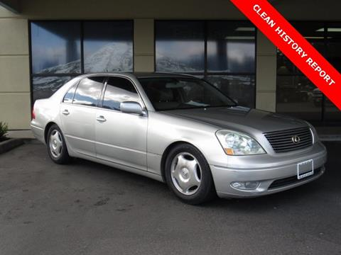 2001 Lexus LS 430 for sale in Tacoma, WA